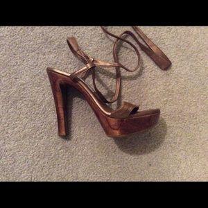 Shoes - Handmade santini Mavardi platforms